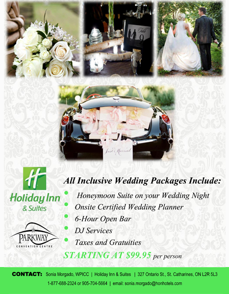 Holiday Inn Wedding Packages